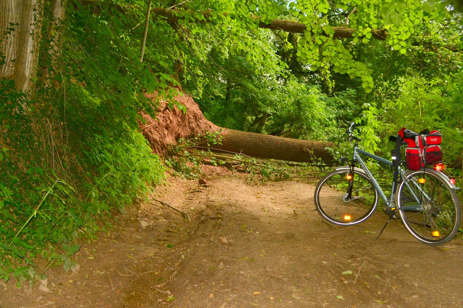 Ende der Radtour