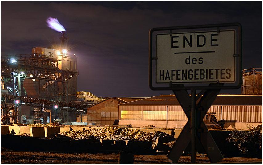 ENDE - DK Recycling - Duisburg Hafen