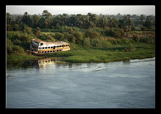 Ende einer Nilkreuzfahrt bei Luxor
