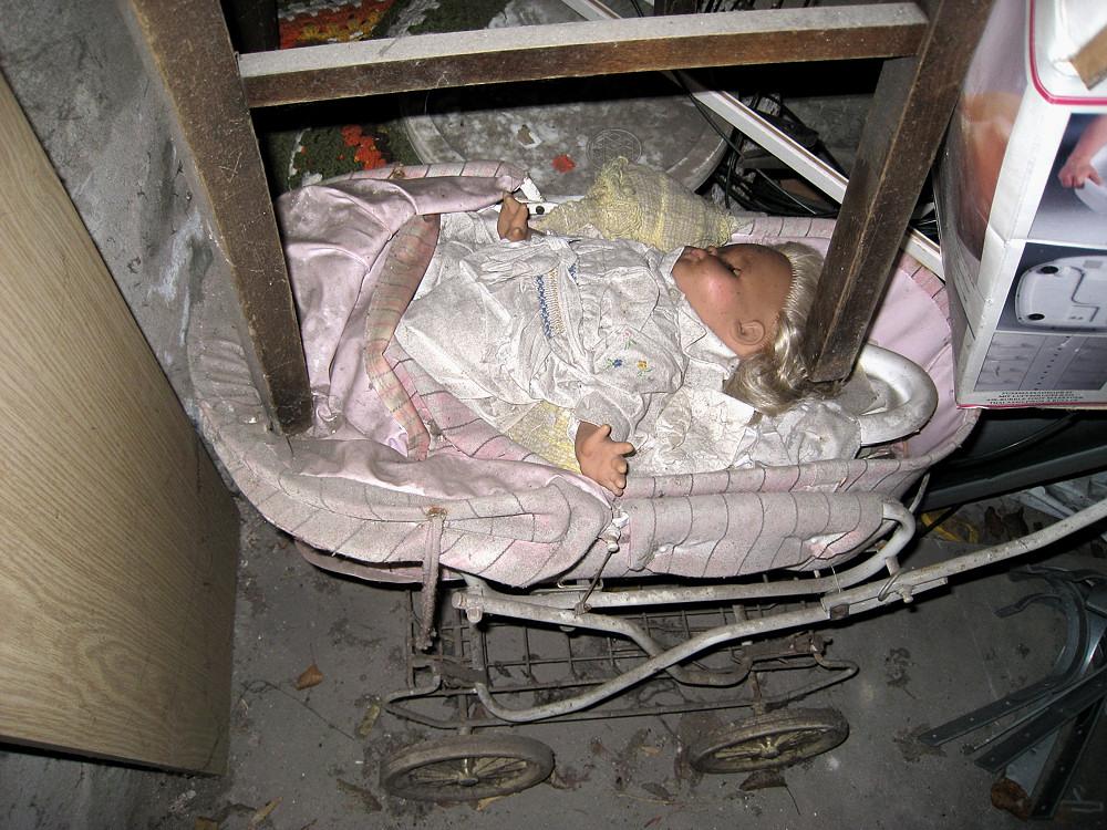 Ende eines Puppenlebens