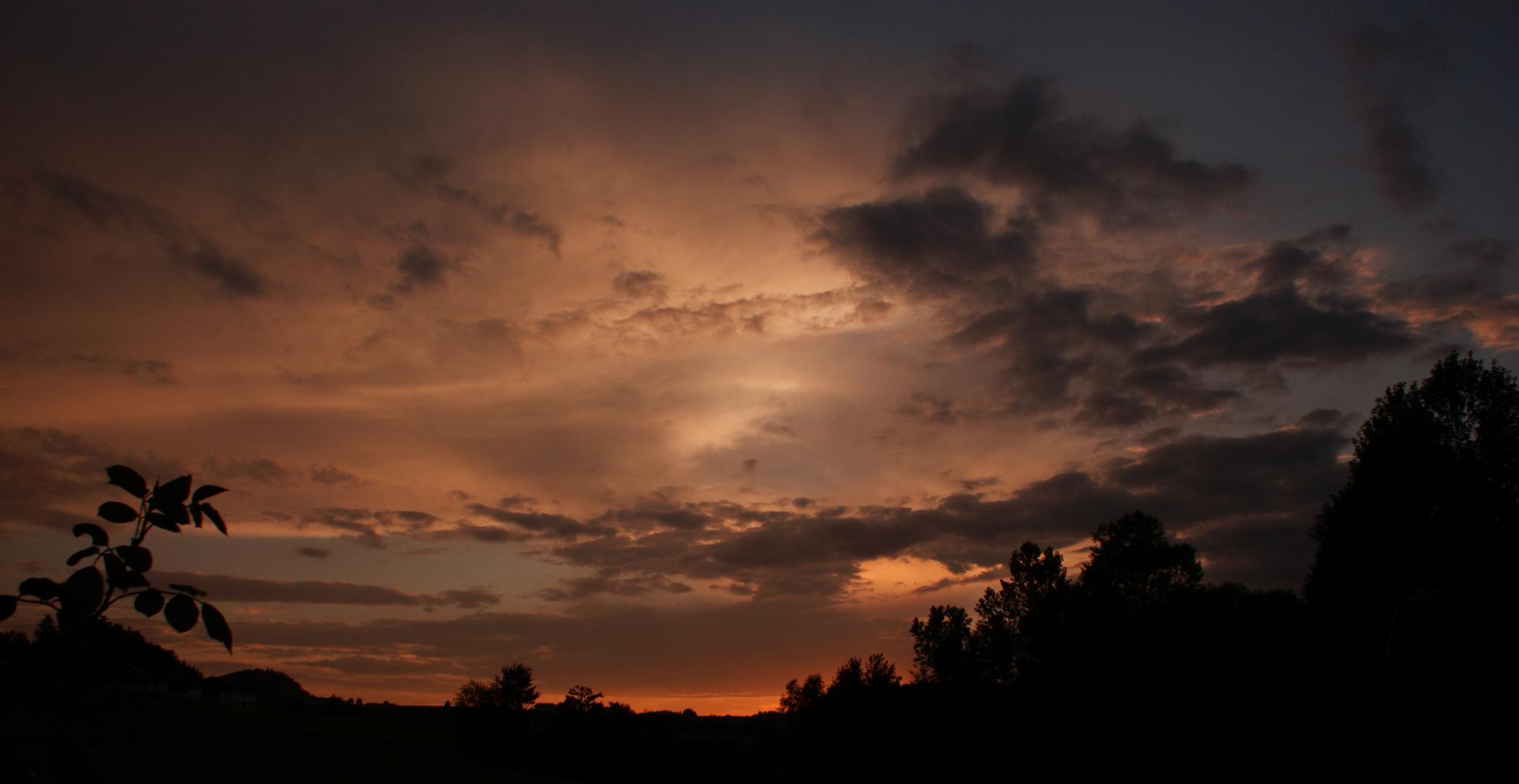 Ende eines Sonnentages