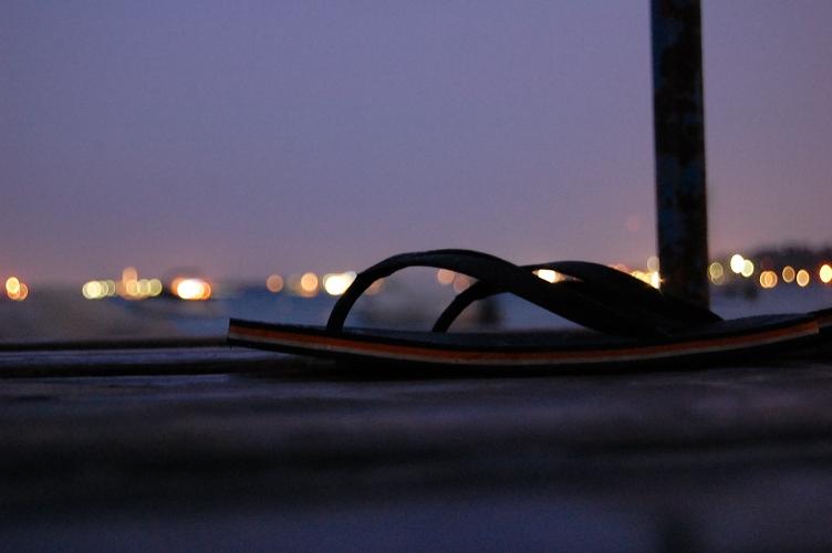 Ende eines Strandtages