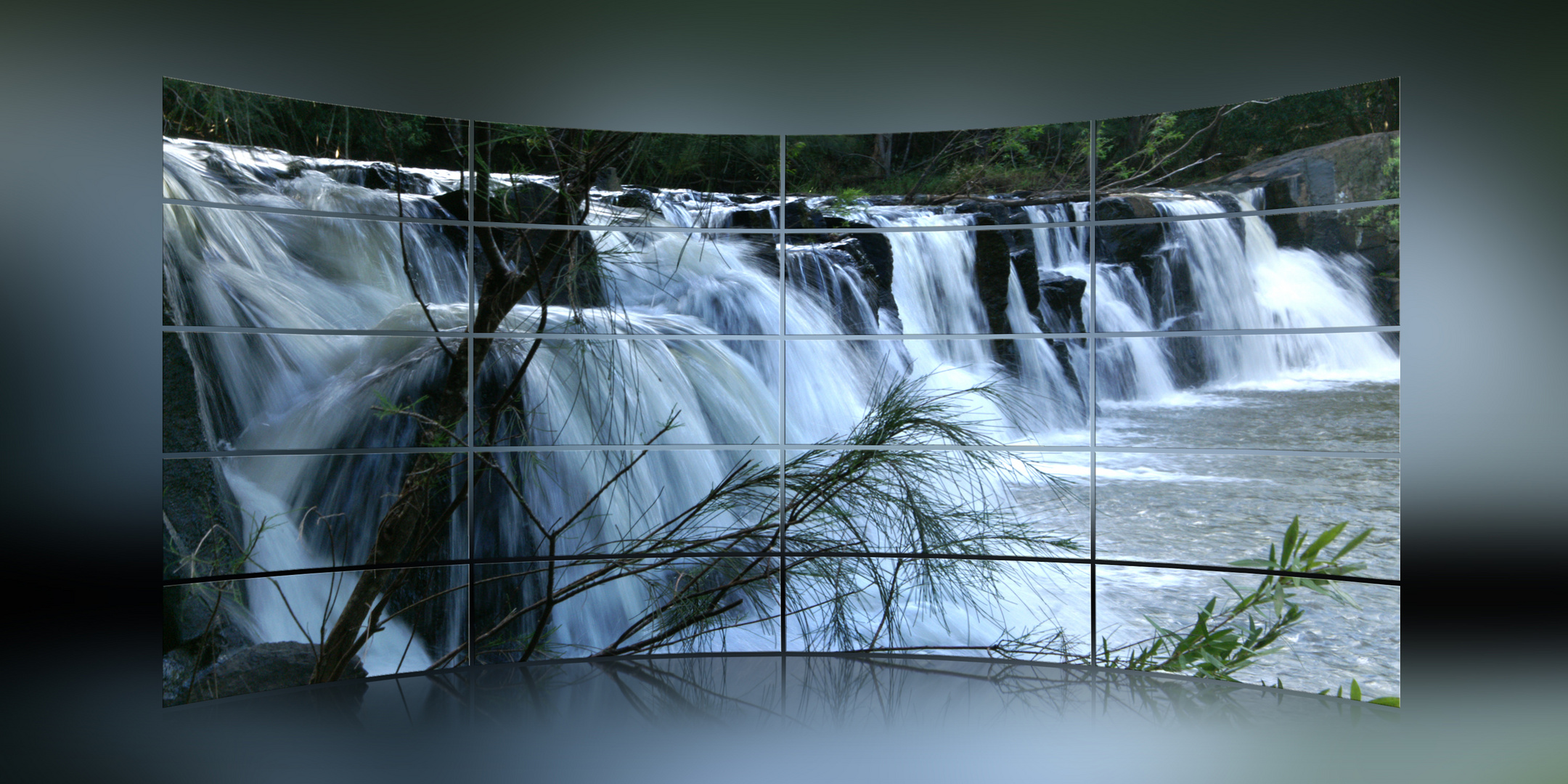 + Endeavour Falls in action +