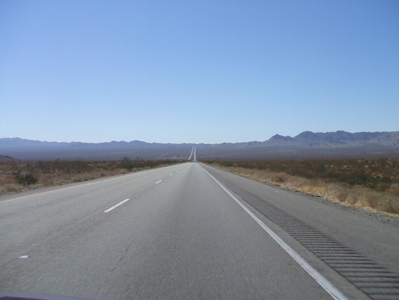 Endless Highway - Mojave Desert