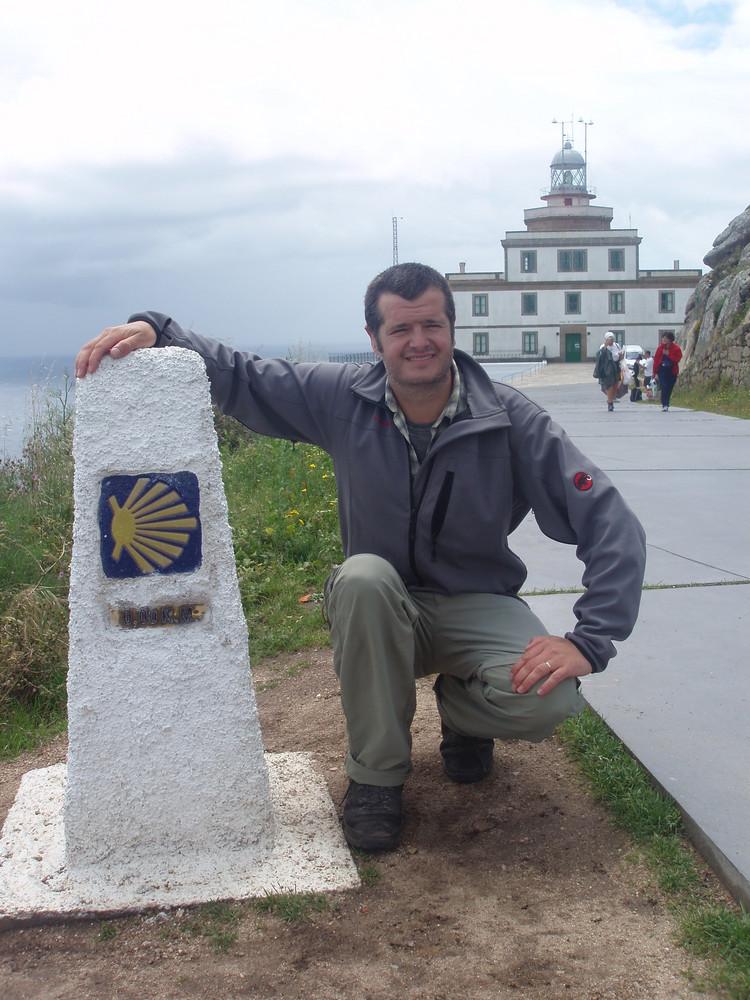 Endlich am Ziel: Kap Finisterre