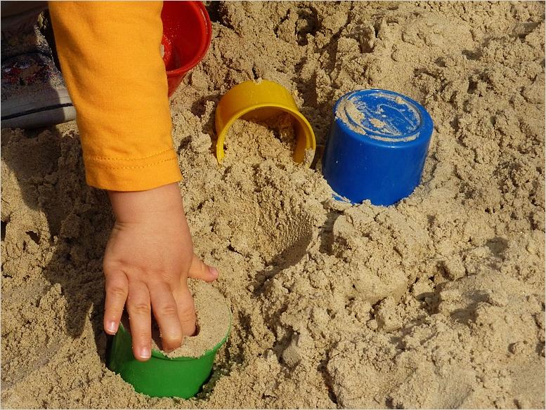 Endlich Sandkastenwetter