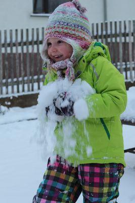 ..endlich Schnee....