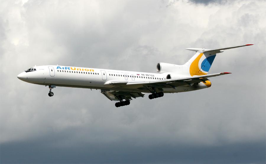 Endlich wieder mal Tu-154