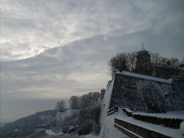 Endlich Winter in Würzburg