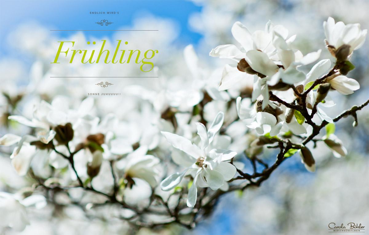 Endlich wird's Frühling, Sonne Juhuuu!!