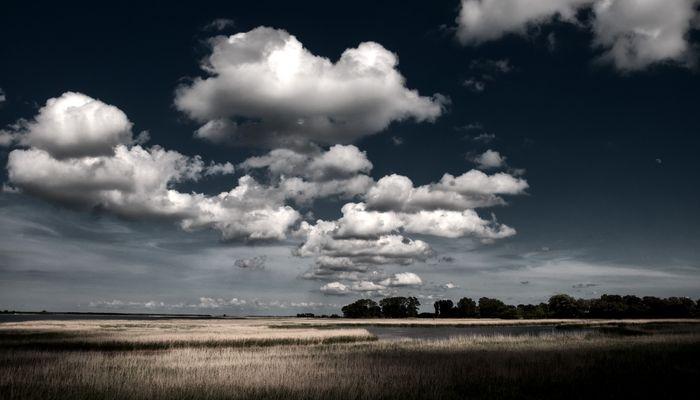 Endlich Wolken