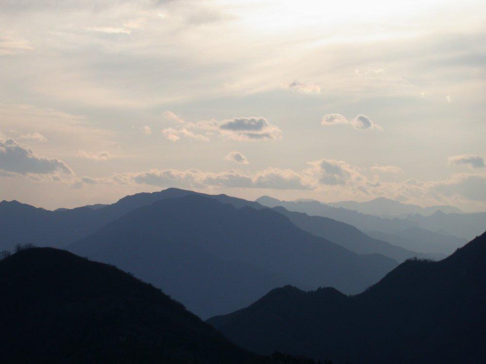 Endlose Berge