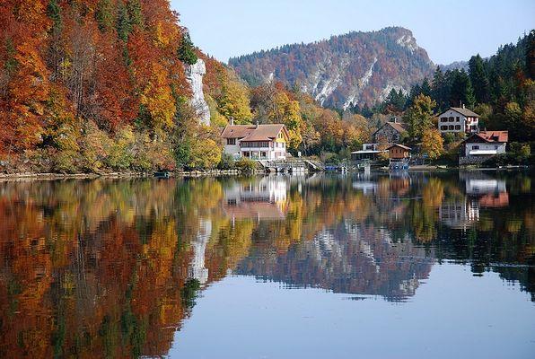 Endstation am Lac de Brenet