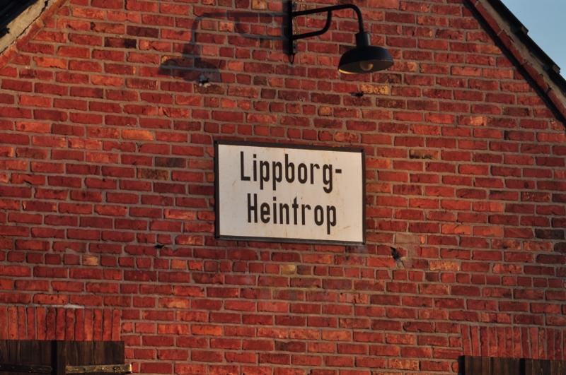 Endstation der Hammer Eisenbahn Freunde. Lippborg...