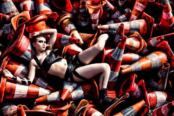 © EndYmioN – Damien Guyon - Shooting Trash avec maimai Peutot