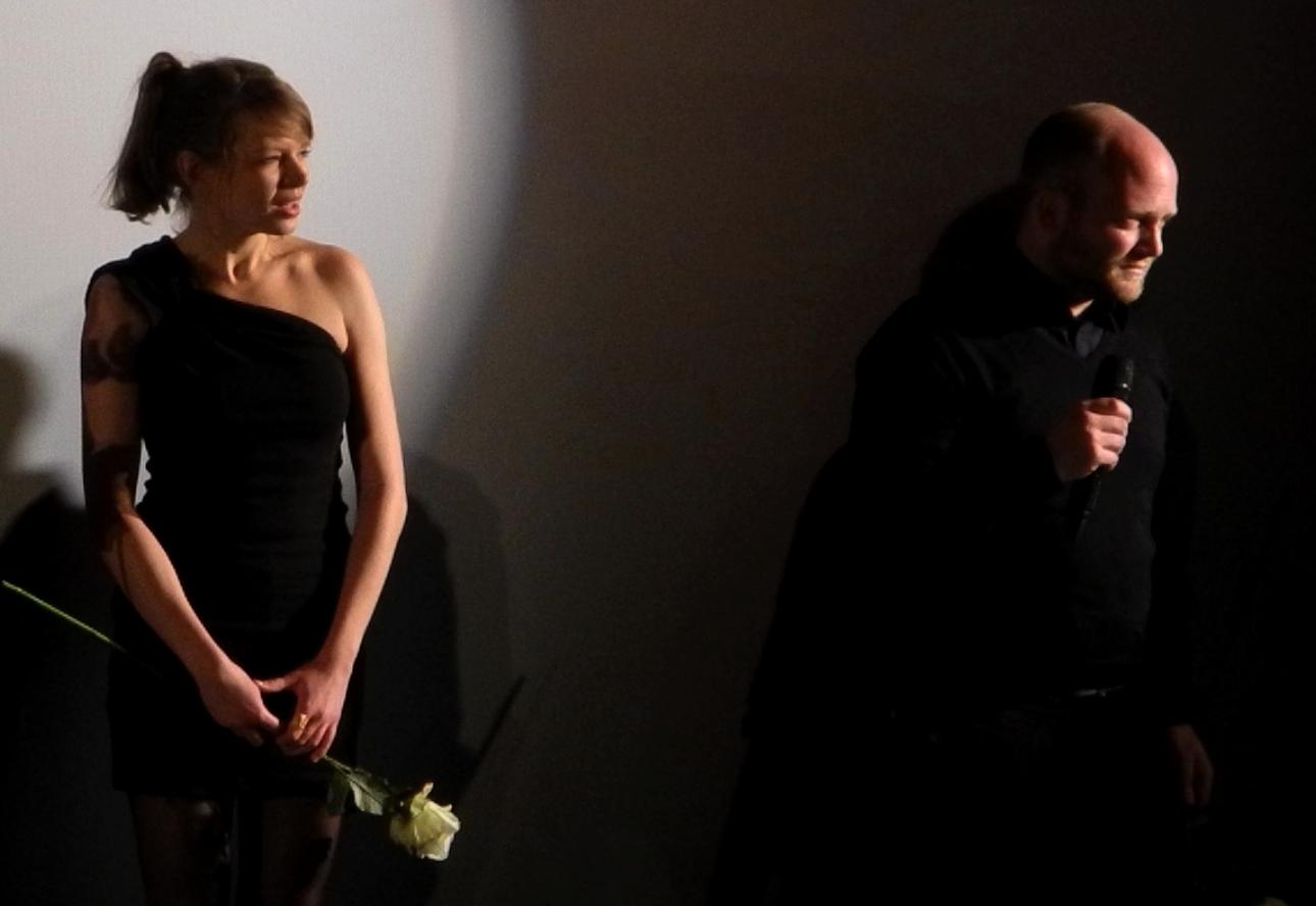 ENDZEIT - Lise Wolle u Regisseur Sebastian Fritzsch