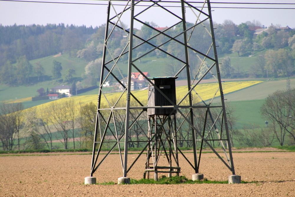Energieautarker Hochstand