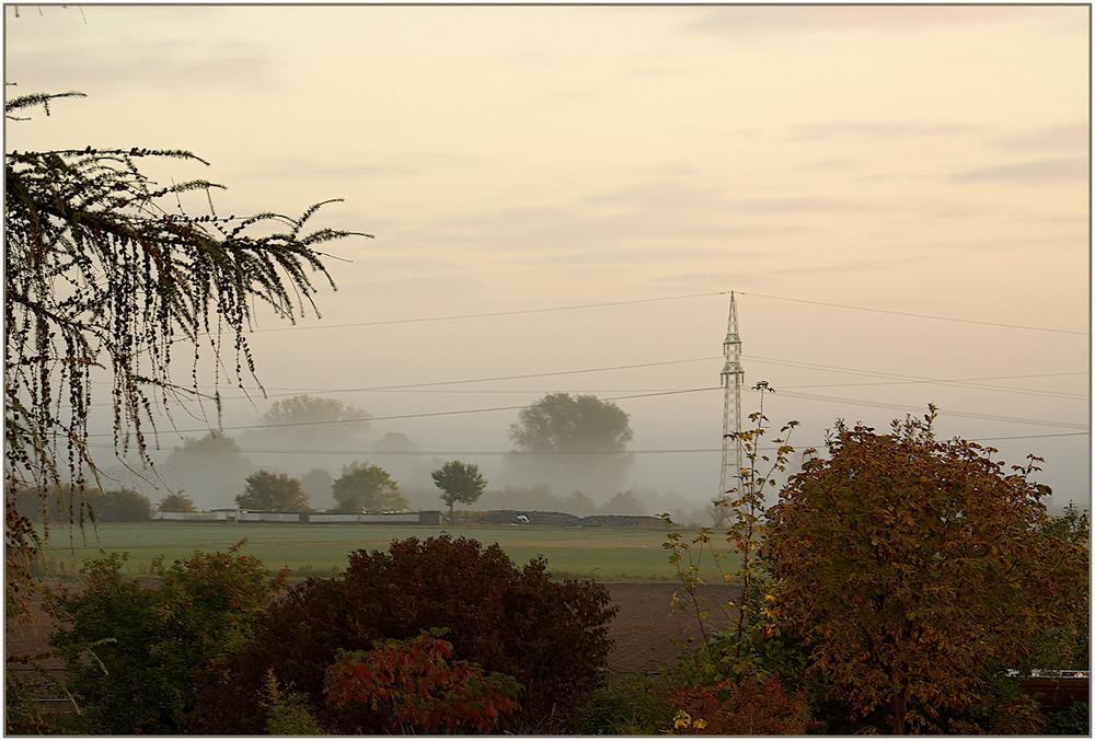 Energiefluß im Nebel
