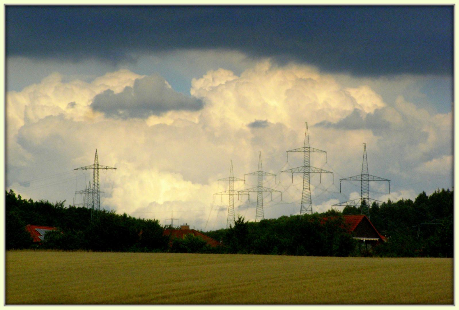 Energiegeladene Luft