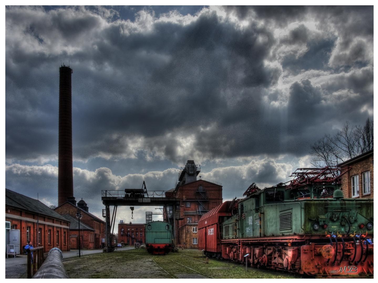 Energiewerk Knappenrode_Fabrikgelände