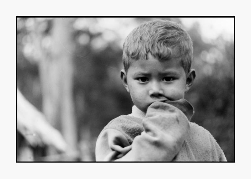 Enfant Chiang Rai, Thaïlande