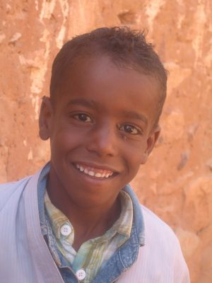 Enfant du sud algérien
