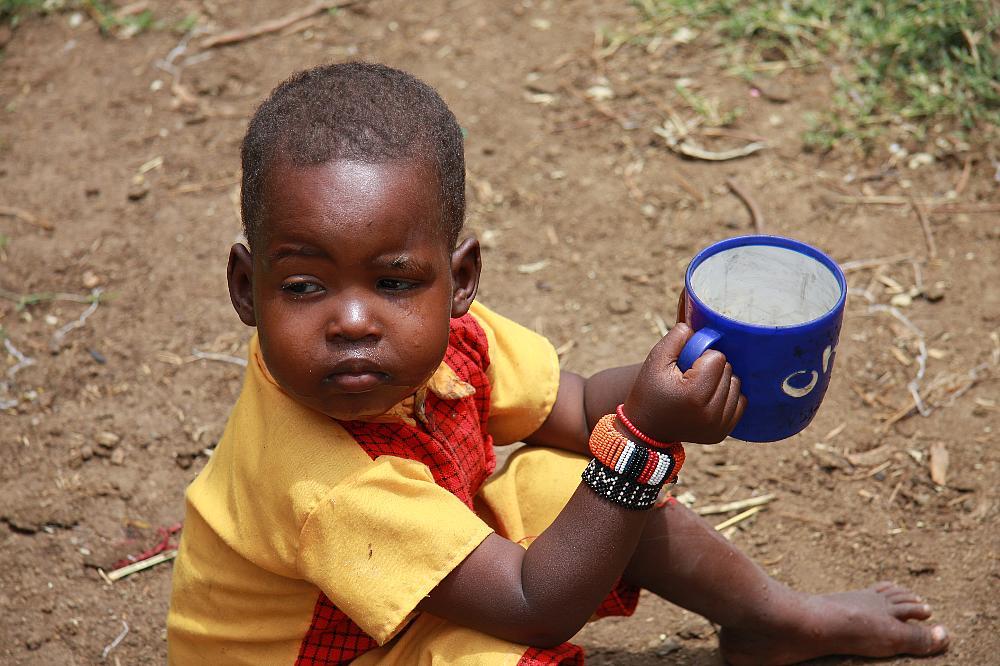 enfant Masaai