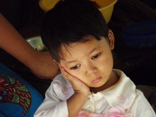 enfant songeur