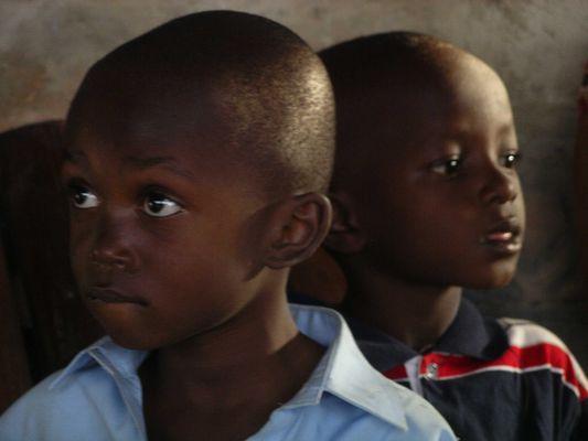 enfants danseurs Burkina-Faso