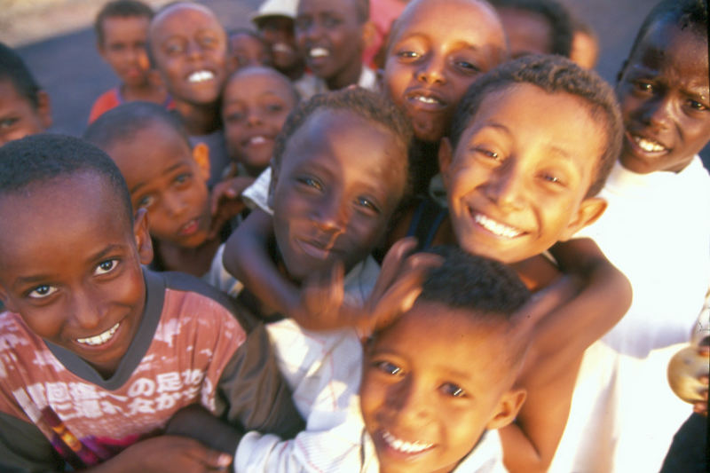 Enfants ethiopiens