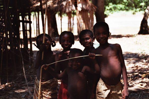 Enfants malgaches