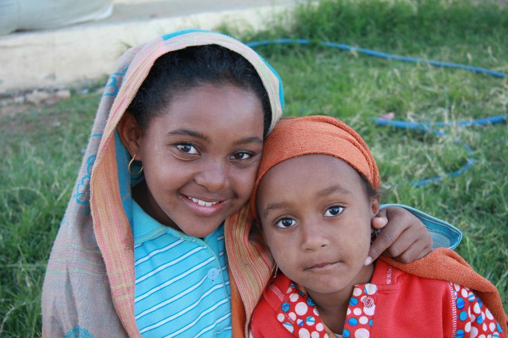enfants nubiens