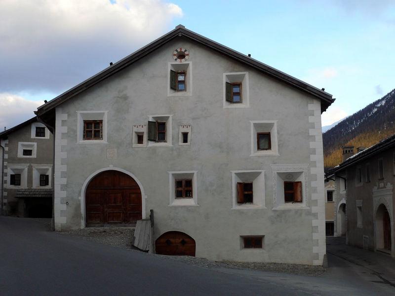 Engadin-style house