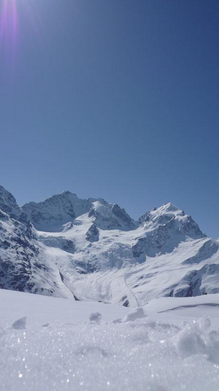 Engadina: Maggio sui ghiacciai 2009