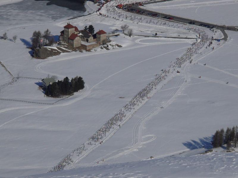 Engadiner Skimarathon 2007, Schloss Crap da Sass