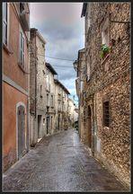 Enge Gasse in Castelli