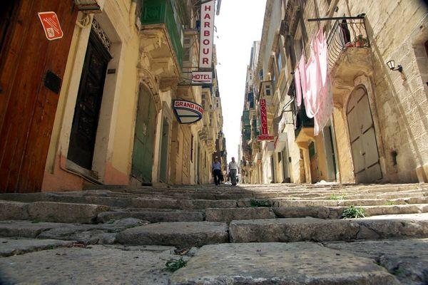 Enge Gassen von Valletta