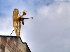 Engel auf dem Bischofssitz in Essen