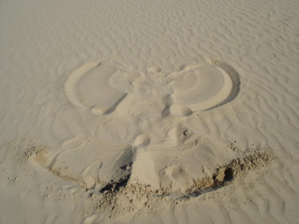 Engel im Sand