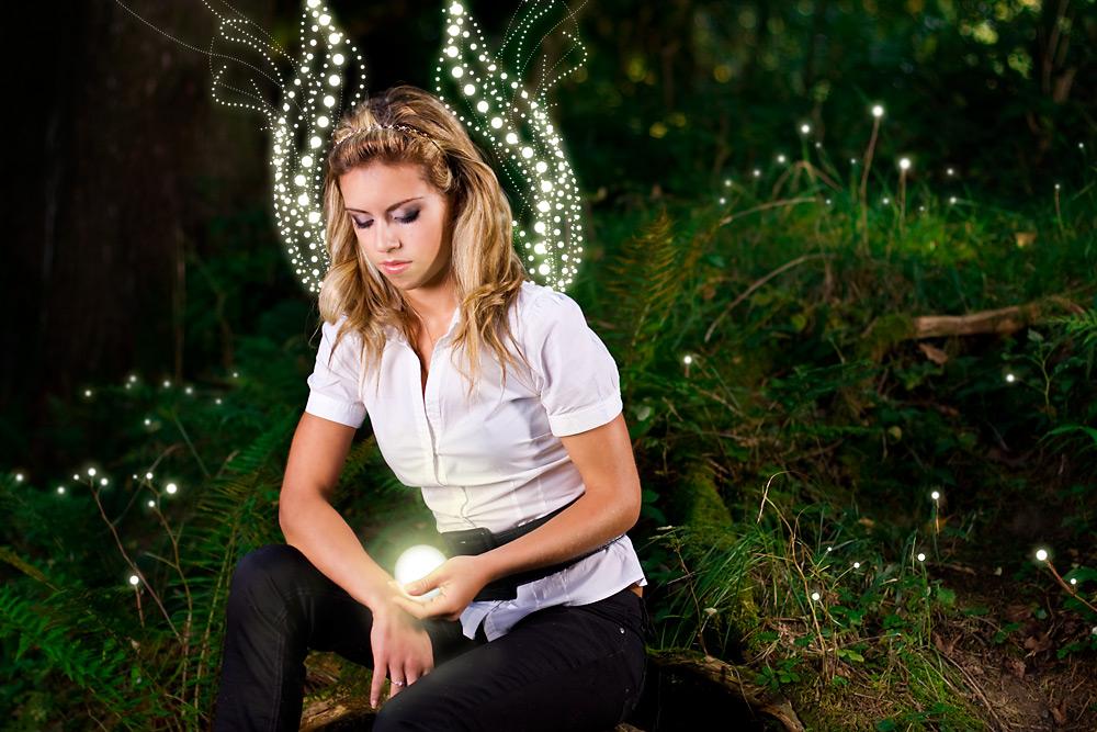Engel im Wald 2