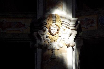 Engel in der Frauenkirche Dresden