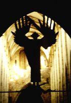 Engel, Kirche...unscharf