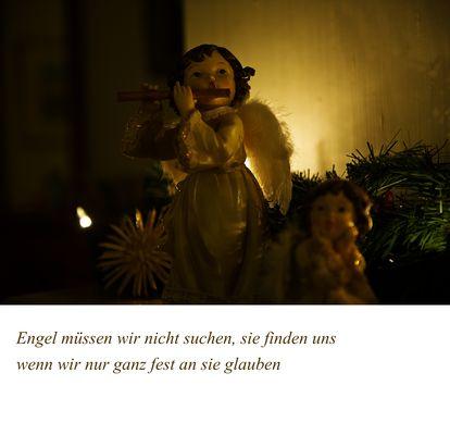 Engel müssen wir nicht suchen