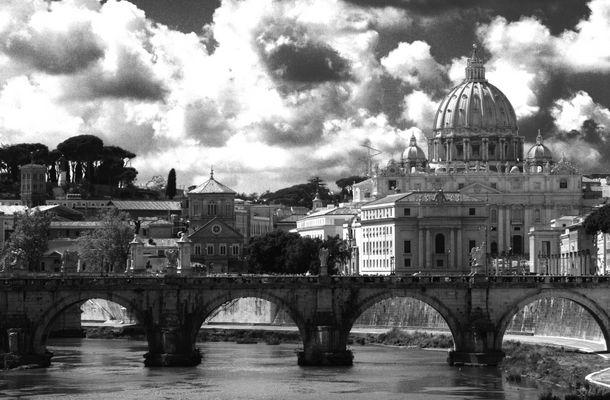 Engelsbrücke und Vatikan