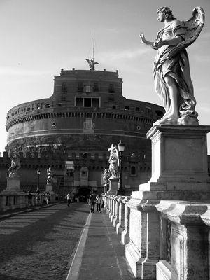 Engelsbrücke zu Engelsburg, Rom