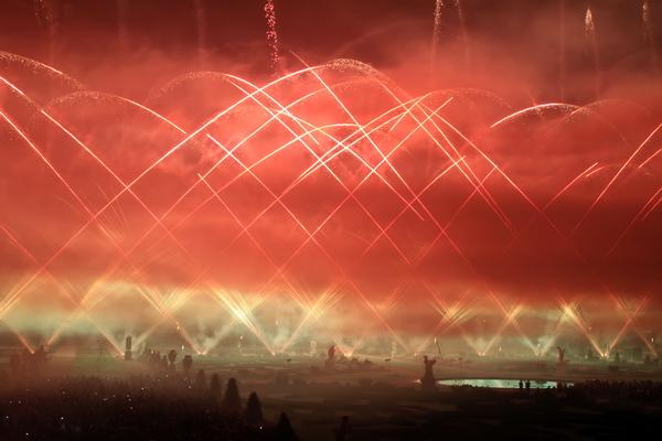 England, Feuerwerkswettbewerb