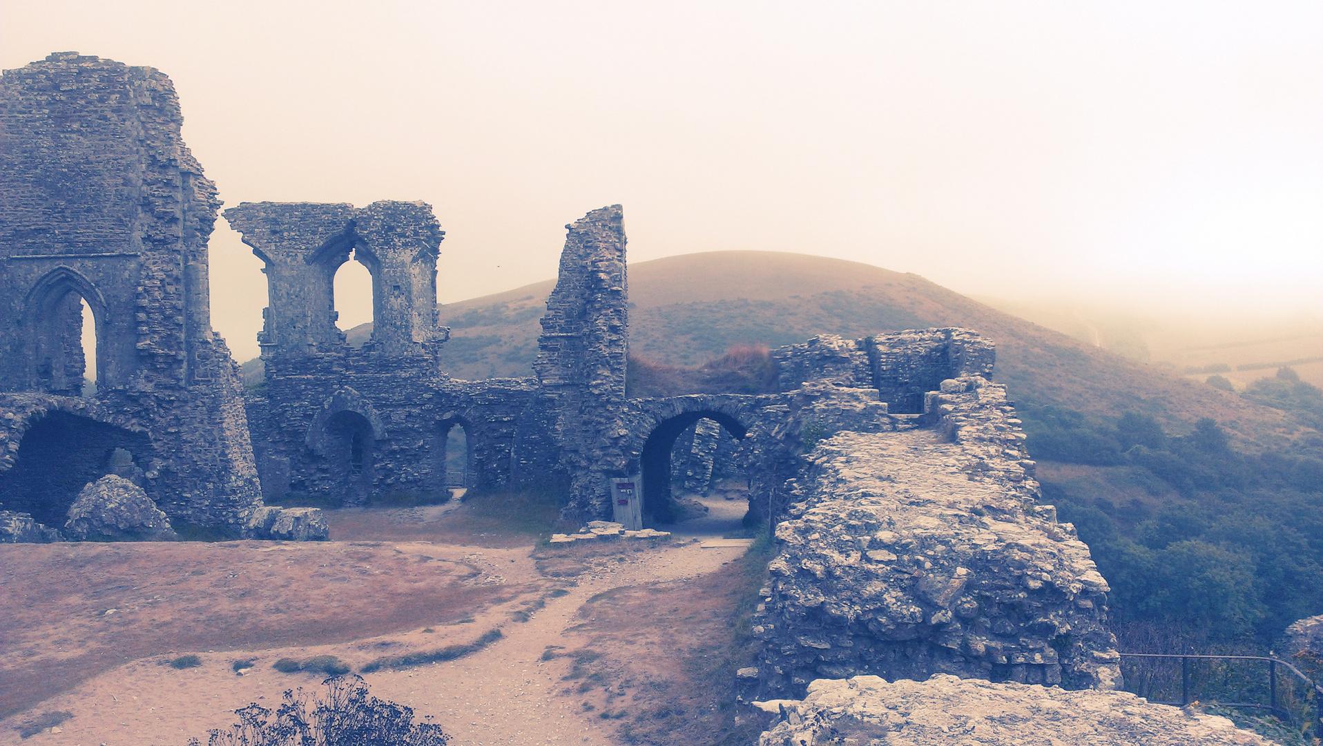 England,Corfe Castle I