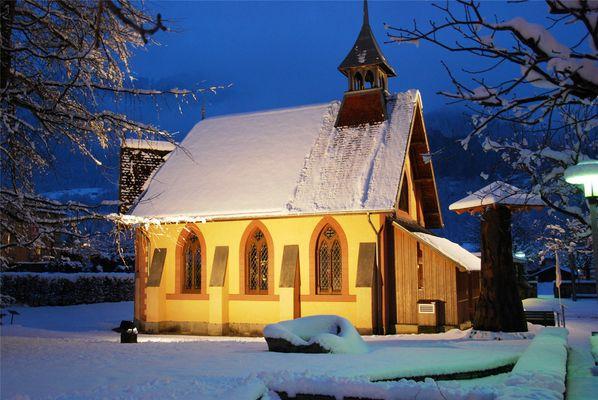 Englisch Kapelle in Meiringen/CH/incl. Sherlock Museum