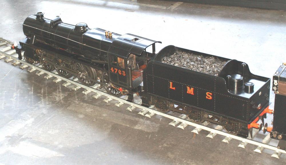 Englische Dampflokomotoive 4763 der LMS