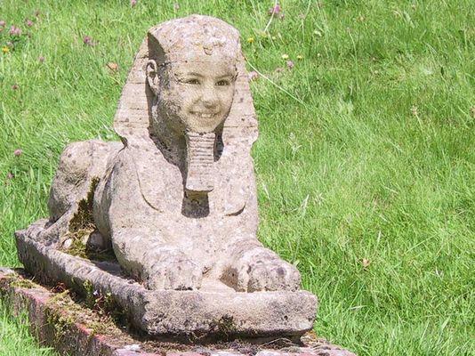 englische Sphinx
